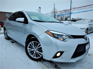 Used 2014 Toyota Corolla LE | AUTO | LEATHER.ROOF | ONE OWNER | 83KM for sale in Kitchener, ON