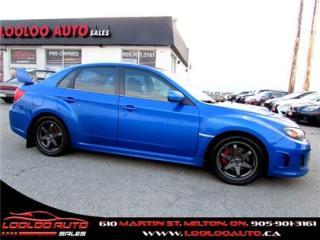 Used 2011 Subaru Impreza WRX WRX TURBO 5 SPEED AWD CERTIFIED 2 YR WARRANTY for sale in Milton, ON