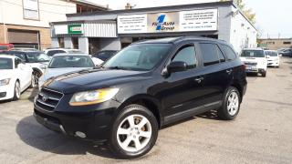 Used 2009 Hyundai Santa Fe Limited AWD LEATHER, P-ROOF, BLUETOOTH for sale in Etobicoke, ON