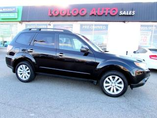 Used 2012 Subaru Forester 2.5X Limited Navigation Sunroof Certified 2YR Warr for sale in Milton, ON