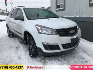 Used 2017 Chevrolet Traverse LS | ONE OWNER | 8PASS | AWD for sale in London, ON