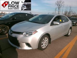 Used 2015 Toyota Corolla LE*AllPowerOption*Camera*HtdSeats*Eco&Warranty* for sale in York, ON