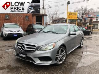 Used 2014 Mercedes-Benz E-Class AWD*AMGPkg*Navi*BlindSpot*FullOption* for sale in York, ON
