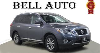 Used 2013 Nissan Pathfinder SL 7 PASSENGER LEATHER REARVIEW CAM PWR LIFTGATE for sale in North York, ON