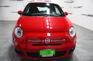 Used 2016 Fiat 500 Sport| LEATHER-TRIMMED SEATS| TOUCH SCREEN| for sale in Burlington, ON