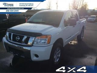Used 2012 Nissan Titan SV 4X4  - trade-in - local for sale in Courtenay, BC