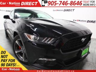 Used 2015 Ford Mustang V6| BACK UP CAMERA| PUSH START| for sale in Burlington, ON