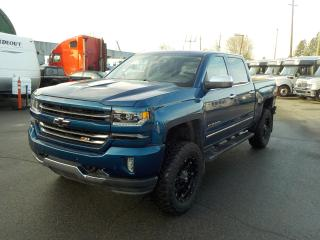 Used 2017 Chevrolet Silverado 1500 LTZ Crew Cab Regular Box 4WD for sale in Burnaby, BC