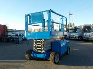 Used 2007 GENIE GS3268DC Large Scissor Lift 4X2 for sale in Burnaby, BC