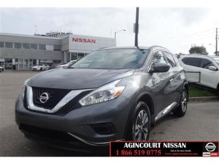 Used 2017 Nissan Murano S FWD CVT (2) S DEMO|APPLE CAR PLAY|NOT A RENTAL| for sale in Scarborough, ON