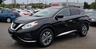 Used 2017 Nissan Murano S FWD CVT S DEMO|APPLE CAR PLAY|NOT A RENTAL| for sale in Scarborough, ON