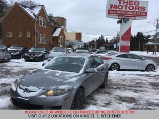 Used 2006 Mazda MAZDA6 GS | YOU CERTIFY, YOU SAVE for sale in Kitchener, ON