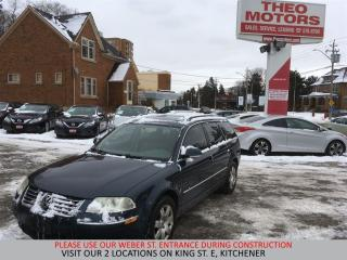 Used 2005 Volkswagen Passat Wagon GLS | 4 MOTION | YOU CERTIFY, YOU SAVE for sale in Kitchener, ON