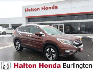 Used 2015 Honda CR-V TOURING|ACCIDENT FREE|ONE OWNER for sale in Burlington, ON