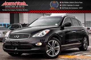 Used 2015 Infiniti QX50 AWD|Nav|Sunroof|Leather|BOSE|Heat Frnt.Seat|360 Cam|19