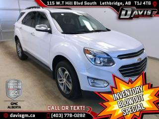 Used 2016 Chevrolet Equinox LTZ AWD, NAVIGATION, HEATED LEATHER for sale in Lethbridge, AB