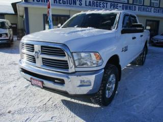 Used 2015 Dodge Ram 2500 3/4 TON - DIESEL SLT MODEL 5 PASSENGER 6.7L - CUMMINS.. 4X4.. CREW.. SHORTY.. BACK-UP CAMERA.. CD/AUX/USB INPUT.. TOUCH SCREEN.. for sale in Bradford, ON