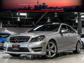 Used 2014 Mercedes-Benz C350 NAVI|BLINDSPOT|REAR CAM|PANO|PUSHSTART for sale in North York, ON