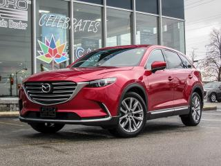 Used 2017 Mazda CX-9 GT AWD/ NAVIGATION/ WINDSHIELD PROJECTED DISPLAY/ BLIND SPOT MONITORING/  REAR TRAFFIC ALERT/ POWER LIFT GATE for sale in Scarborough, ON