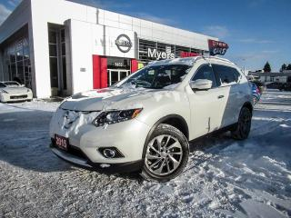 Used 2015 Nissan Rogue SL, AWD, NAVIGATION, LEATHER, MOONROOF, BACK UP CAMERA for sale in Orleans, ON