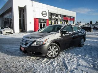 Used 2013 Nissan Sentra SL, NAVIGATION, LEATHER, SUNROOF, BACK UP CAMERA for sale in Orleans, ON