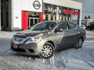 Used 2014 Nissan Versa 4 DOOR, HEATED SEATS/MIRRORS, A/C for sale in Orleans, ON