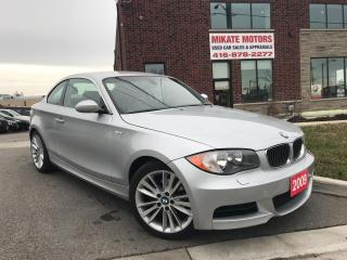 Used 2009 BMW 128I ONLY 56,000 KM!! for sale in Etobicoke, ON