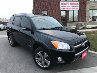 Used 2009 Toyota RAV4 4WD Limited  for sale in Etobicoke, ON