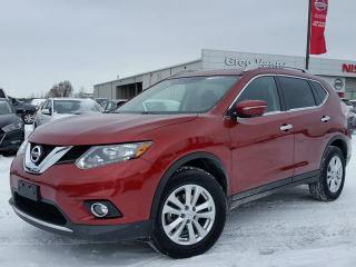 Used 2015 Nissan Rogue SV AWD w/heated seats,climate control,rear cam,panoramic roof for sale in Cambridge, ON
