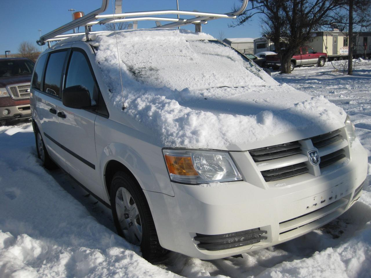 2009 Dodge Grand Caravan C/V AC Shelving Beacon Light Ladder Rack PW PM PL