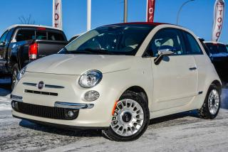 Used 2015 Fiat 500 C RED, LEATHER, CONVERTIBLE, LOUNGE for sale in Gatineau, QC