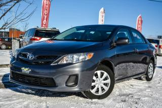 Used 2013 Toyota Corolla CE, SUNROOF, HEATED SEATS, A/C for sale in Gatineau, QC