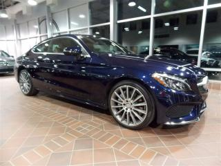Used 2017 Mercedes-Benz C-Class C300 Coupé Awd, Toit for sale in Quebec, QC