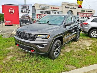 Used 2017 Jeep Grand Cherokee Trailhawk Unlimited Unique 4x4 / Prix ja for sale in Mirabel, QC