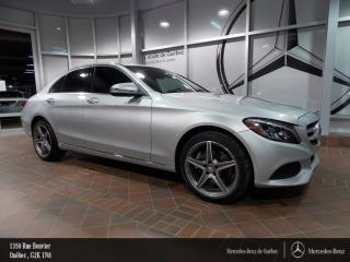 Used 2016 Mercedes-Benz C-Class C300 Awd, Volant for sale in Quebec, QC