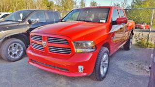 Used 2017 Dodge Ram 1500 Crew SPORT Red Performance / SOUS LE PRI for sale in Mirabel, QC