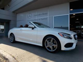 Used 2018 Mercedes-Benz C-Class C300 Cabriolet Awd for sale in Quebec, QC
