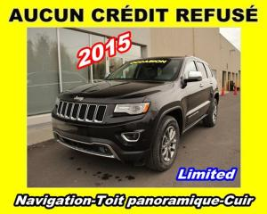 Used 2015 Jeep Grand Cherokee Ltd Navigation Toit for sale in Mirabel, QC