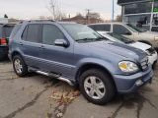 Used 2005 Mercedes-Benz ML 350 3.5L Elegance for sale in Scarborough, ON