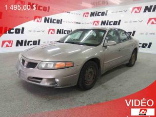 Used 2003 Pontiac Bonneville A/c - Commandes for sale in La Sarre, QC
