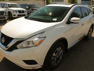 New 2018 Nissan Murano SV: Panoramic Moonroof, Heated steering wheel, Motion Activated Liftgate, Navigation, Bluetooth, Heated front seats, RearView Monitor, Remote Engine Start System with Intelligent Climate Control, 8-way power driver's seat, Driver's seat power lumbar suppo for sale in Edmonton, AB