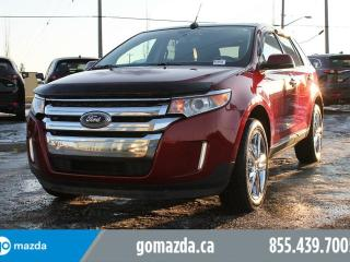 Used 2013 Ford Edge Limited LEATHER PANO ROOF NAVI ACCIDENT FREE for sale in Edmonton, AB
