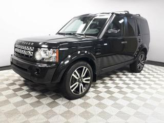 Used 2013 Land Rover LR4 HSE LUX - Local One Owner | 3M Protection Applied | Rear DVD | Navigation | Back Up Camera | Parking Sensors | Heavy Duty Package | Xenon Headlamps | Heated Windshield with Rain Sensing Wipers | Heated Front/Rear Seats | 7 Seats | Heated Steering Wheel |  for sale in Edmonton, AB