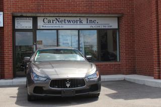 Used 2014 Maserati Ghibli S Q4 for sale in Woodbridge, ON