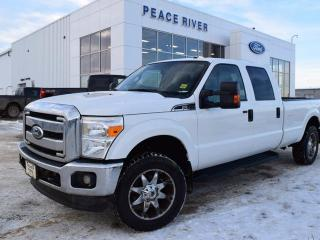 Used 2011 Ford F-250 XLT 4x4 SD Crew Cab 8 ft. box 172 in. WB for sale in Peace River, AB