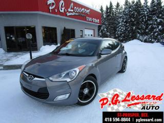 Used 2013 Hyundai Veloster Tech Gps , Toit for sale in St-Prosper, QC