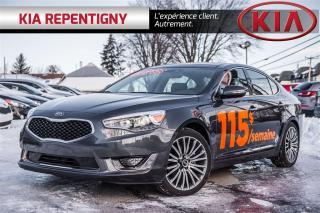 Used 2016 Kia CADENZA for sale in Repentigny, QC