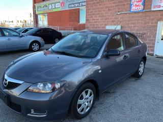 Used 2008 Mazda MAZDA3 ONE OWNER - SAFETY/WARRANTY INCLUDED for sale in Cambridge, ON