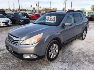 Used 2011 Subaru Outback 2.5 L/4WD/SAFETY/WARRANTY INCLUDED for sale in Cambridge, ON
