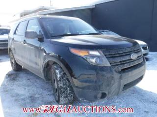 Used 2014 Ford EXPLORER POLICE 4D UTILITY V6 4WD for sale in Calgary, AB
